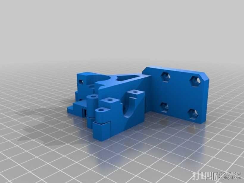 i3 E3D 挤出机 3D模型  图14