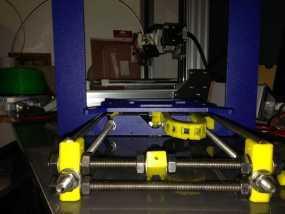 i3电缆坦克链固定架 3D模型