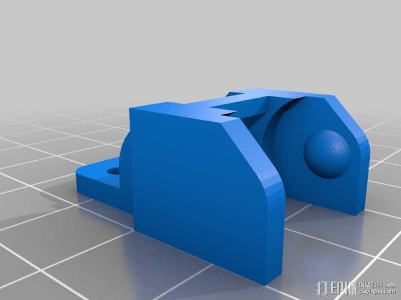 i3电缆坦克链固定架 3D模型  图6