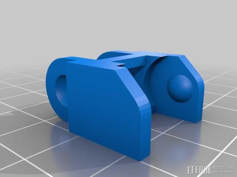 i3电缆坦克链固定架 3D模型  图8