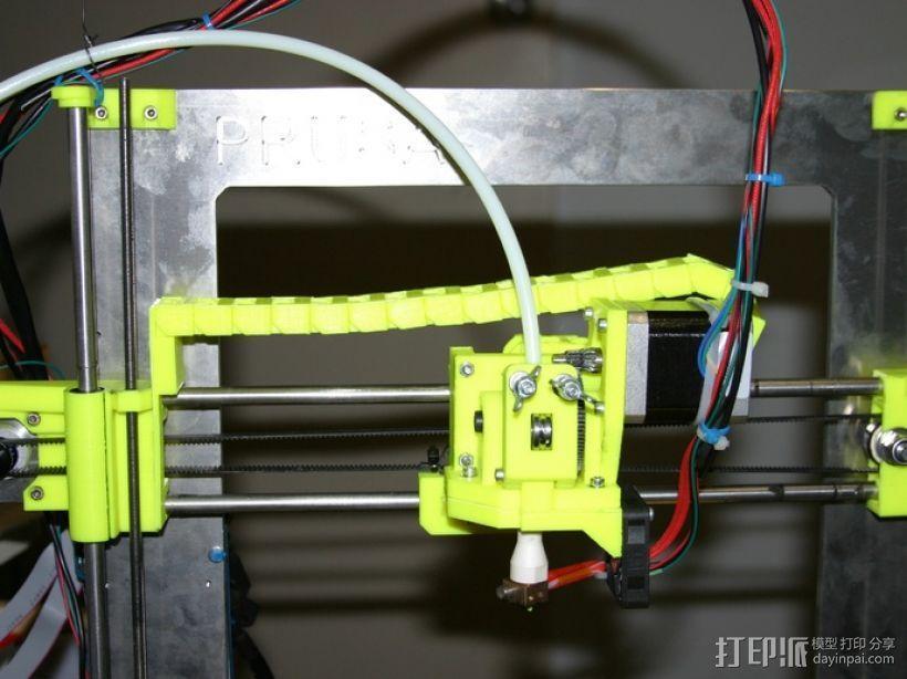 i3电缆坦克链固定架 3D模型  图11