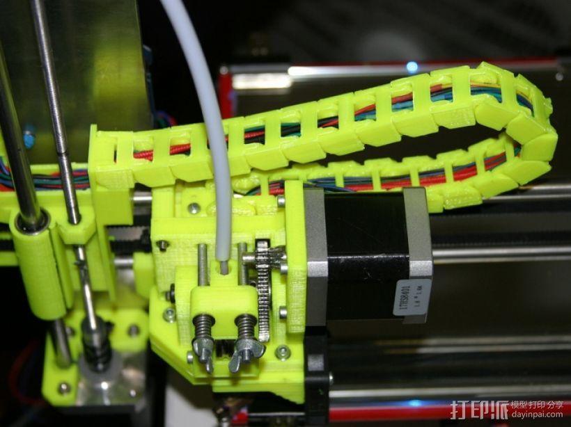 i3电缆坦克链固定架 3D模型  图10