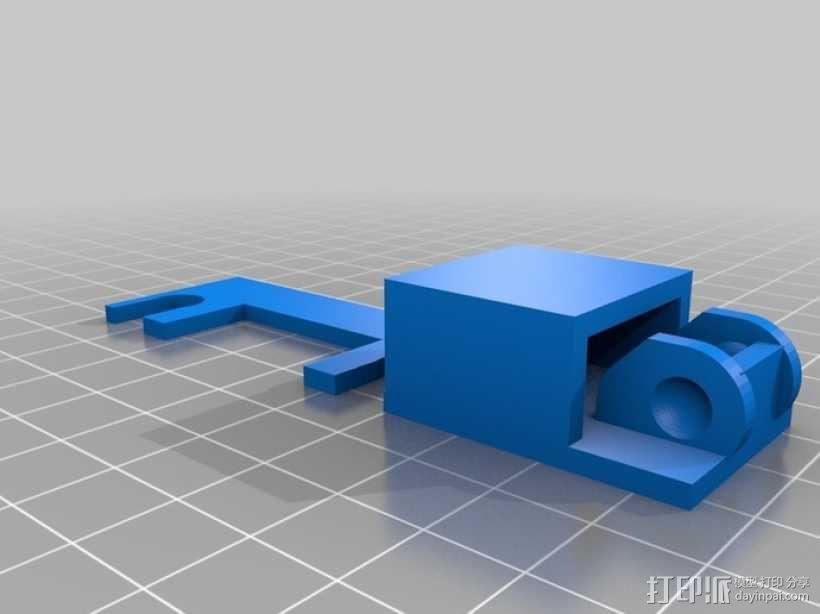 i3电缆坦克链固定架 3D模型  图15