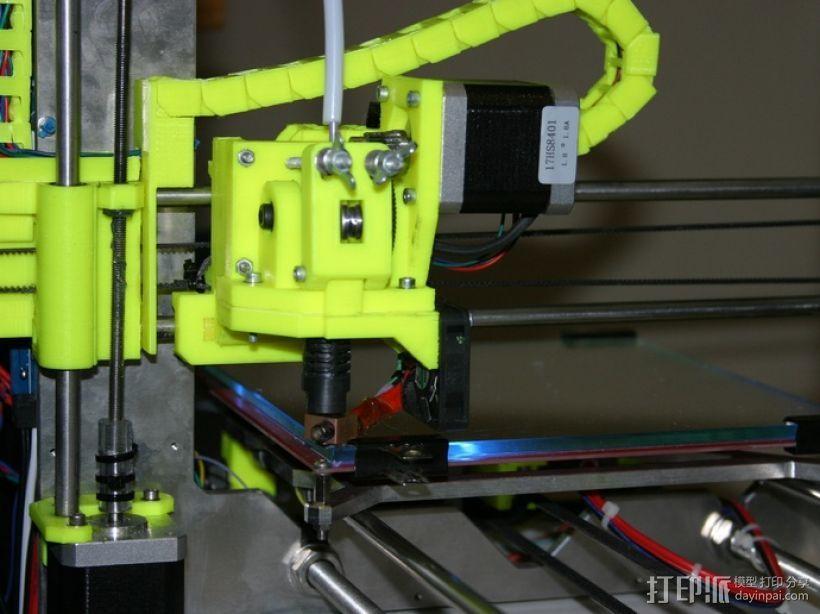 i3电缆坦克链固定架 3D模型  图14