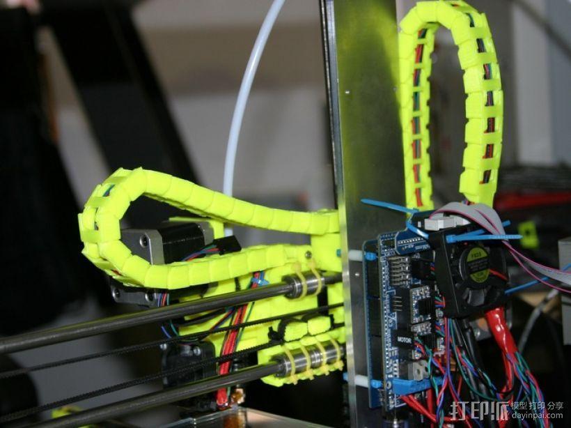 i3电缆坦克链固定架 3D模型  图16
