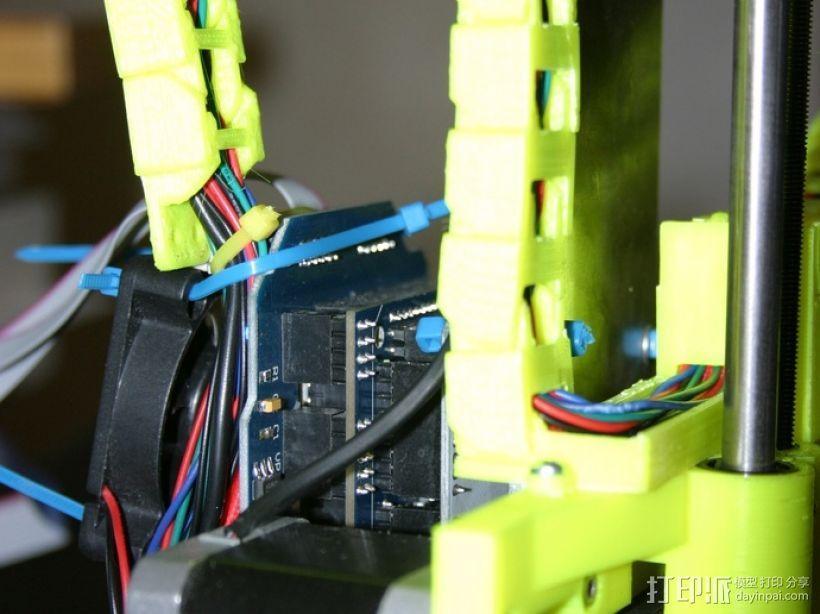 i3电缆坦克链固定架 3D模型  图17