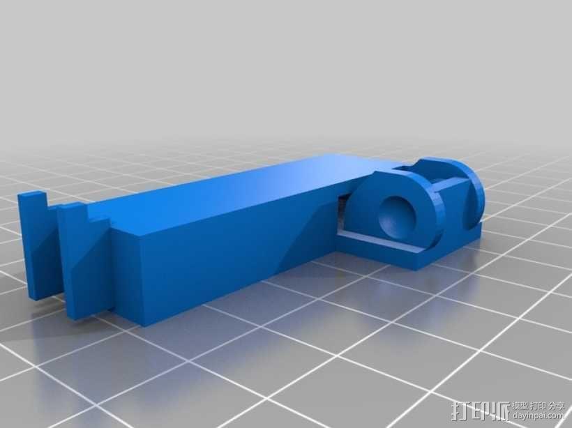 i3电缆坦克链固定架 3D模型  图18