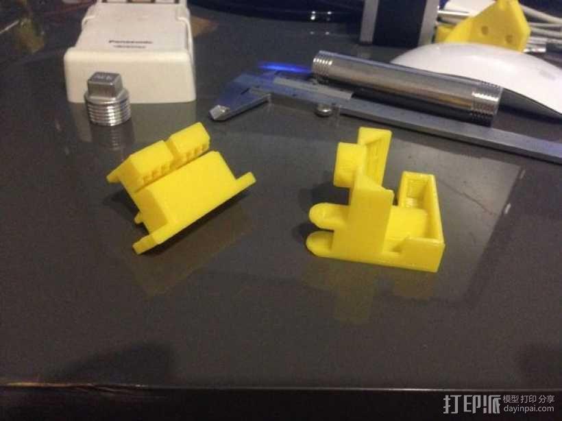 i3电缆坦克链固定架 3D模型  图23