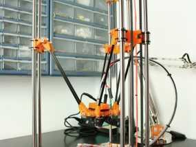 Rostock 桌面式3D打印机 3D模型