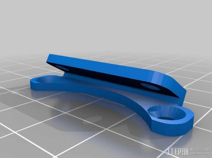 Rostock 桌面式3D打印机 3D模型  图3