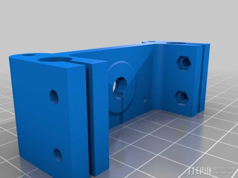 Rostock 桌面式3D打印机 3D模型  图2