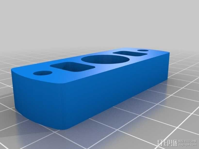 Rostock 桌面式3D打印机 3D模型  图5