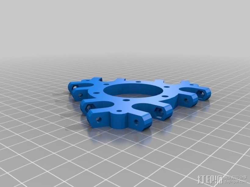 Rostock 桌面式3D打印机 3D模型  图6