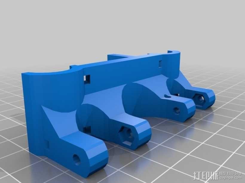 Rostock 桌面式3D打印机 3D模型  图12