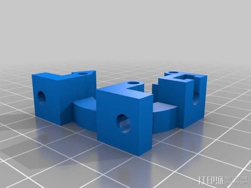 Rostock 桌面式3D打印机 3D模型  图13