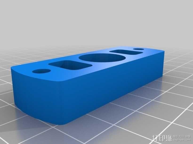 Rostock 桌面式3D打印机 3D模型  图14
