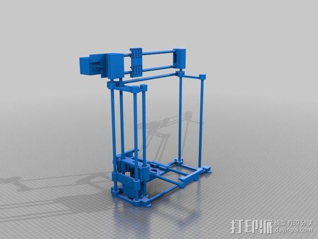 挤出机 3D模型  图22