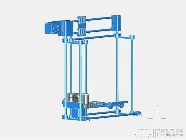 挤出机 3D模型  图24