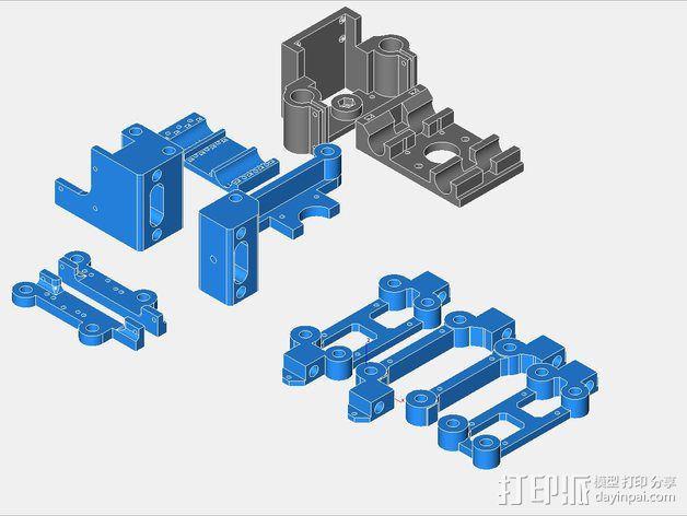 挤出机 3D模型  图25