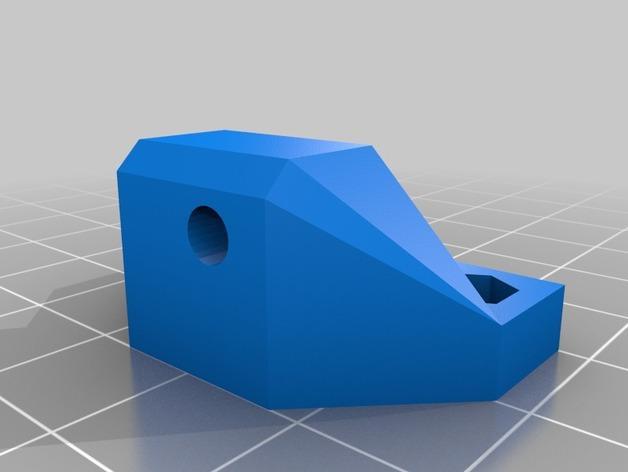 Z字形终点限位开关 3D模型  图2