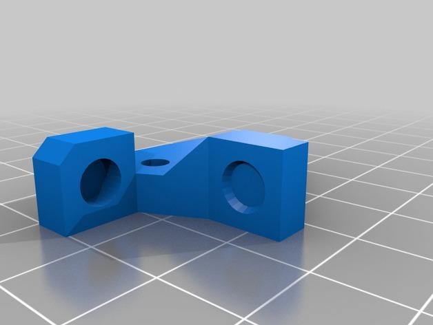 Z字形终点限位开关 3D模型  图3
