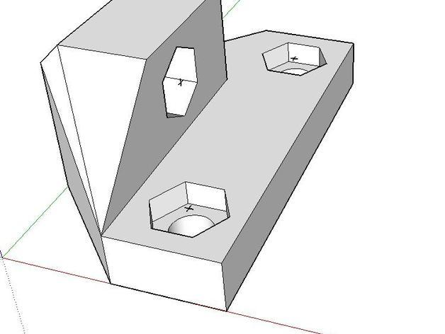 Z字形终点限位开关 3D模型  图5