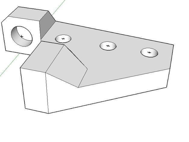 Z字形终点限位开关 3D模型  图6