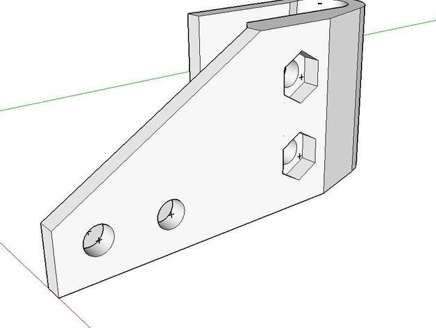 Z字形终点限位开关 3D模型  图7