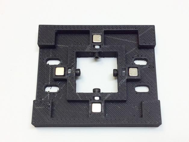磁力3D打印机机床 3D模型  图1