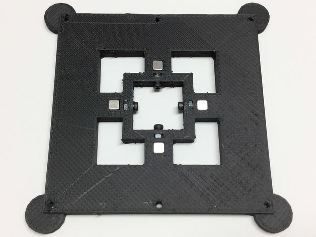 磁力3D打印机机床 3D模型  图2