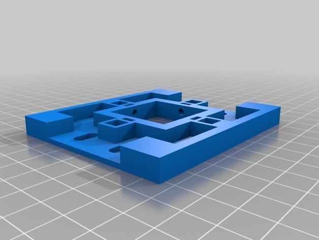 磁力3D打印机机床 3D模型  图3