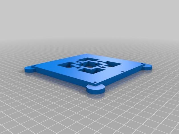 磁力3D打印机机床 3D模型  图4