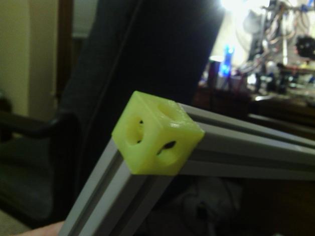 20毫米角托架 3D模型  图1