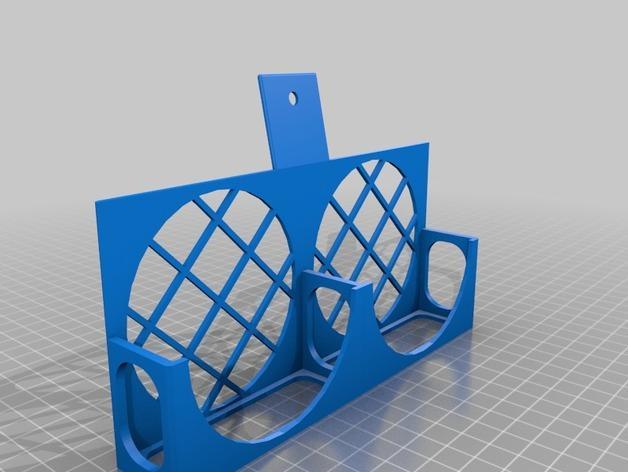 3D打印机风扇外壳 3D模型  图3