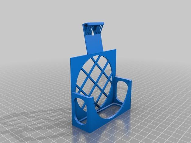 3D打印机风扇外壳 3D模型  图4