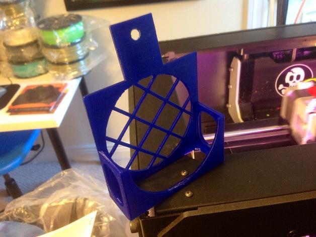 3D打印机风扇外壳 3D模型  图6
