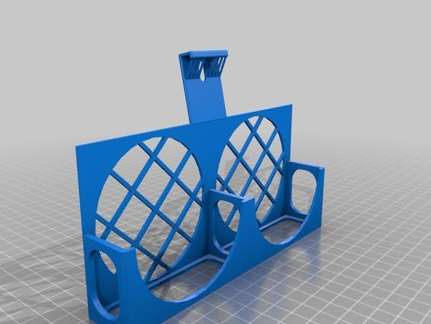3D打印机风扇外壳 3D模型  图5
