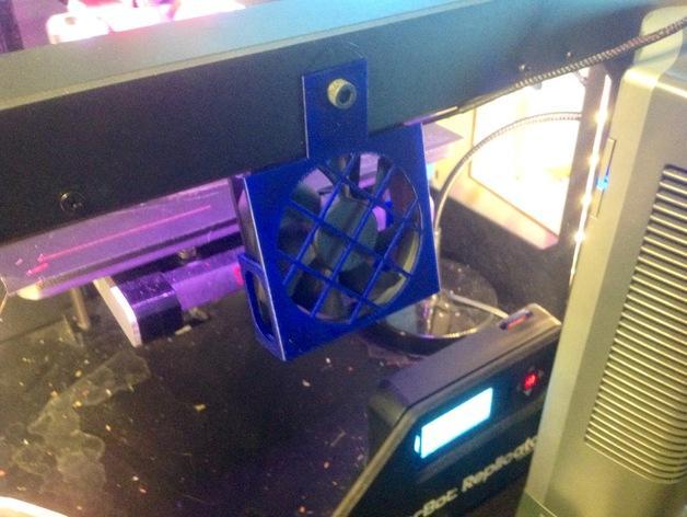 3D打印机风扇外壳 3D模型  图7