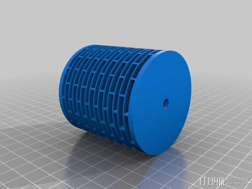 deltabot 3D打印机减震器 3D模型  图2