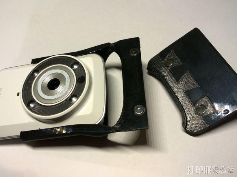Makerbot 2/2X 3D打印机网络摄像头架 3D模型  图9