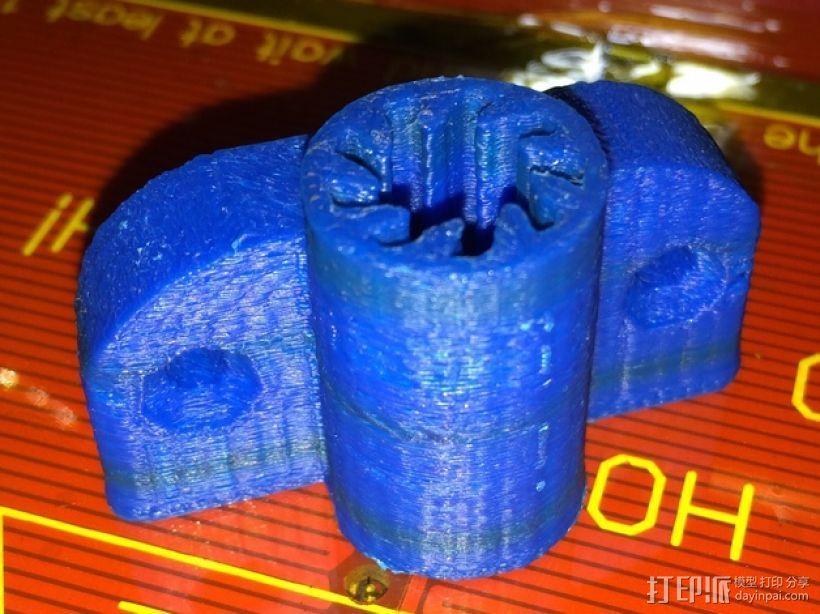 参数化衬套和轴承 3D模型  图1