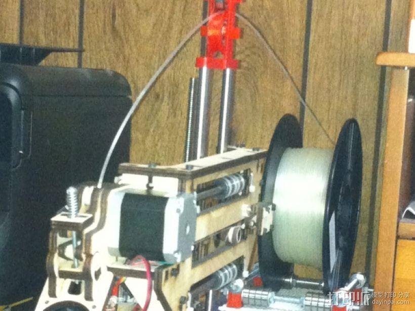 简易线材引导装置/Z轴稳定器 3D模型  图2