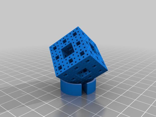 门格海绵测试样品 3D模型  图2