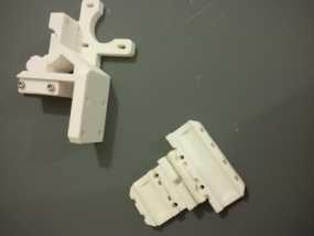 i3 E3D v6热端底板 3D模型