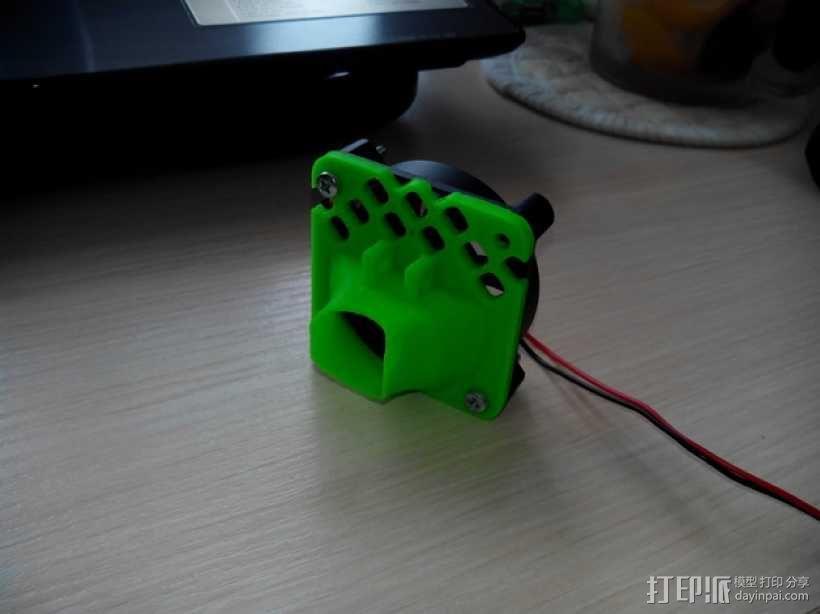 风扇护罩 3D模型  图1