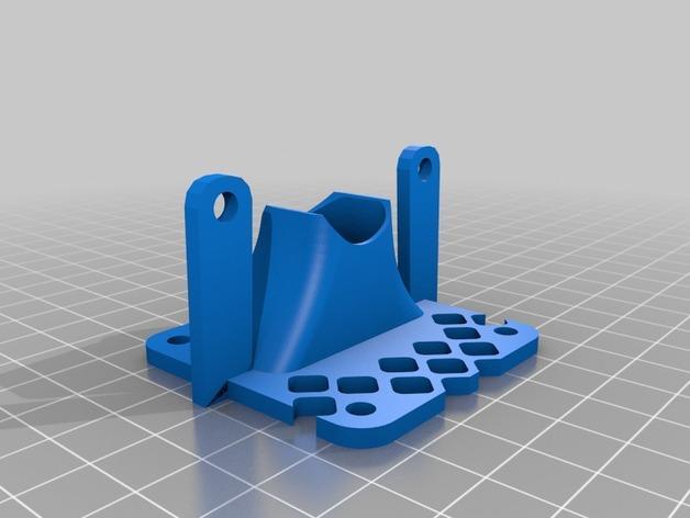 风扇护罩 3D模型  图2