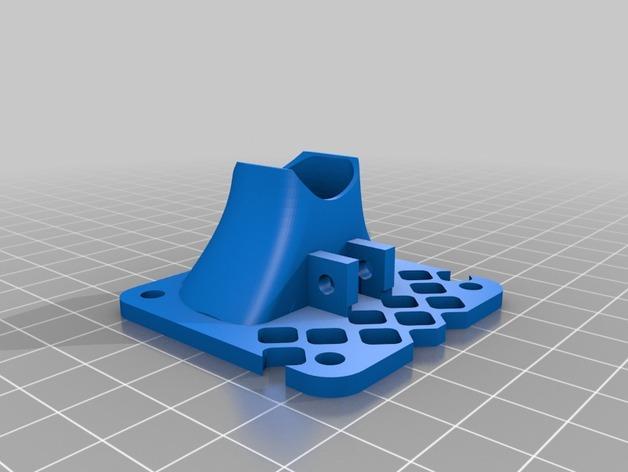 风扇护罩 3D模型  图3