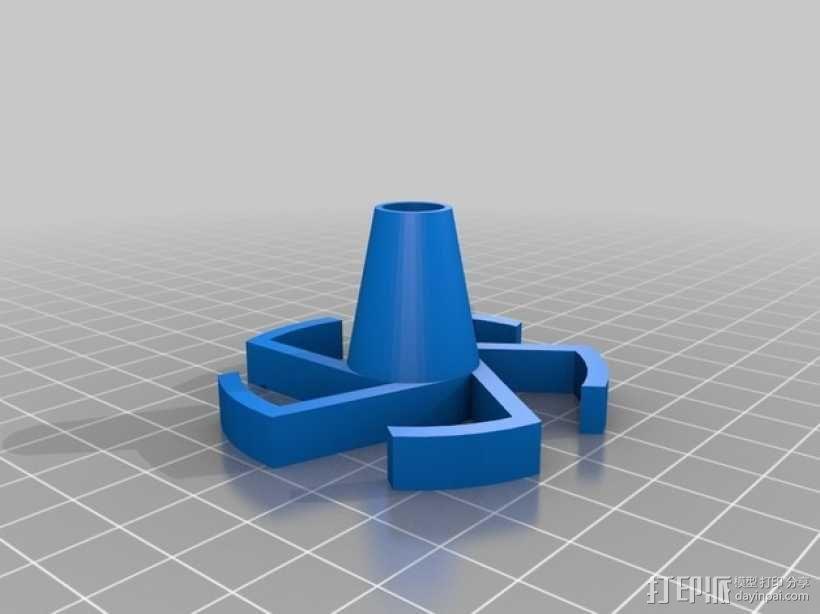 参数化线轴内衬 3D模型  图2