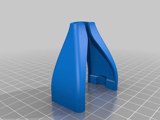 RigidBot挤出机电缆轴衬 3D模型  图4