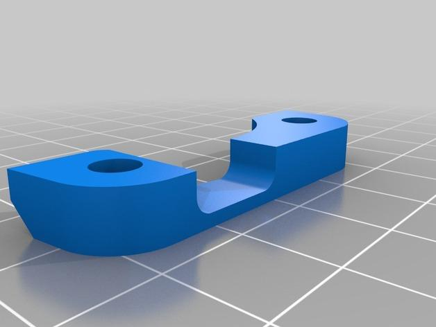 RigidBot挤出机电缆轴衬 3D模型  图6